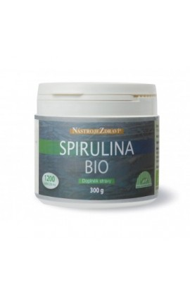 Spirulina BIO (food supplement) 1200 pcs Blue step