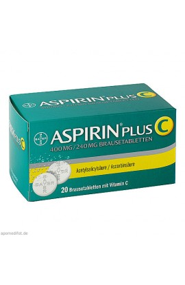Bayer, ASPIRIN PLUS C, 20 Stk