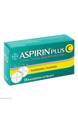 Bayer, ASPIRIN PLUS C, 10 Stk