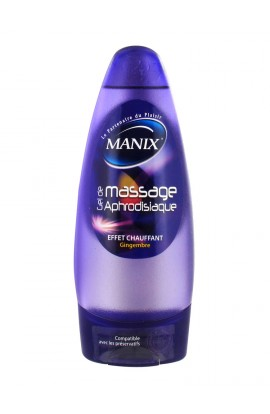 Manix Aphrodisiac massage gel ginger