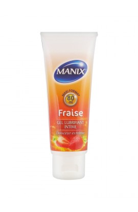 Manix Intimate Strawberry Lubricant 80 ml
