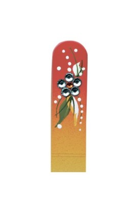 Fulgent World, Nail file, Hand Painted Collection, PL HF49m-1009