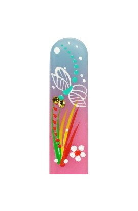 Fulgent World, Nail file, Hand Painted Collection, PL HF50m-0608