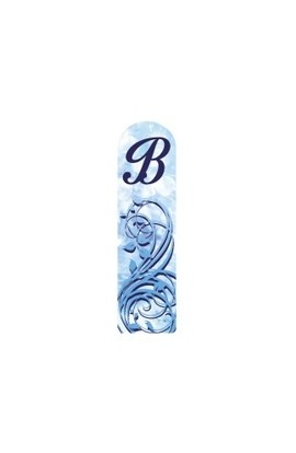 Fulgent World, Nail file, 3D Letter Collection, 3D LETTERS-B