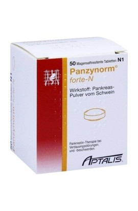 ALLERGAN, PANZYNORM FORTE N MAGENS, 50 tab