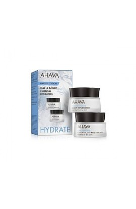 Ahava Duo Hydrate - daily moisturizing cream 15 ml and night nourishing cream for normal to dry skin 15 ml