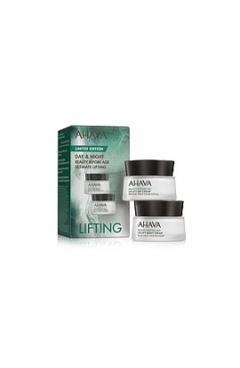 Ahava Duo Lifting - Lifting Day Cream SPF20 15 ml and Lifting Night Cream for Face, Neck and Décollette 15 ml