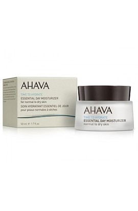 Ahava Time to Hydrate Essential Day Moisturizer cream for Normal to Dry Skin Time to Hydrate  50 ml