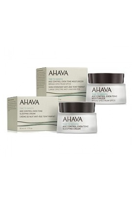 Ahava Age Control Blending Moisturizing Day and Brilliant Night Cream for Mature Skin