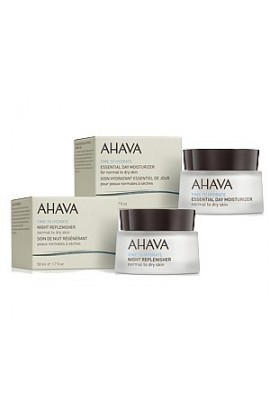Ahava Set daily and night cream for normal to dry skin