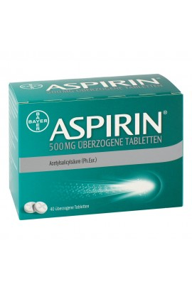Bayer Aspirin 500mg (40 pcs)