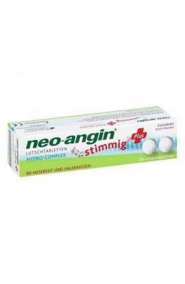 MCM Neo Angin Harmonic Plus Cherry Lozenges (20 pcs)