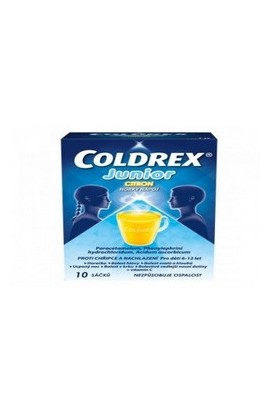 Omega Pharma, COLDREX JUNIOR, 10 ks