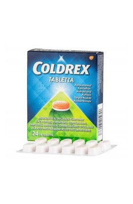 Omega Pharma, COLDREX tabletta, 24 ks