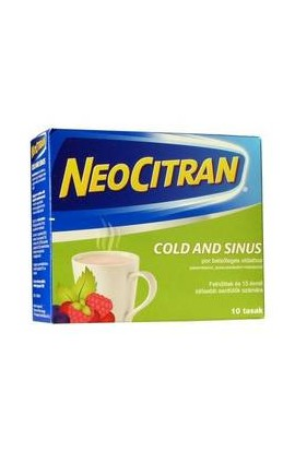 GlaxoSmithKline, NEO CITRAN COLD AND SINUS, 10 ks