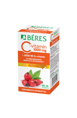 Béres, C-vitamin 1000 mg RETARD , 90 ks