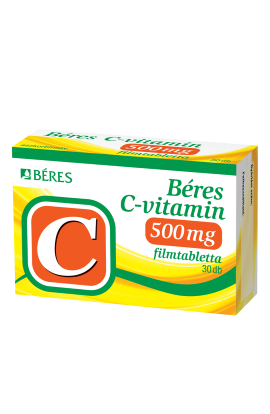 Béres, C-VITAMIN 500 mg, 30 ks