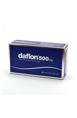 SERVIER ,Daflon 500 mg, 60 cps