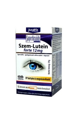 JuvaPharma, LUTEIN 12 mg FORTE, 60 pieces