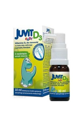 HASCO-LEK, Juvit Baby D3, 8 ml