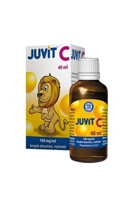 HASCO-LEK, JUVIT C KROPLE 0,1 G/1ML, 40ML