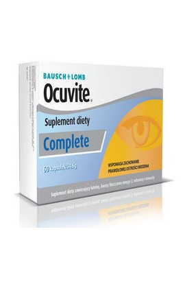 Bausch & Lomb, OCUVITE Complete, 60 PCs