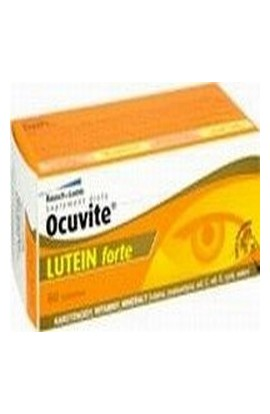 Bausch & Lomb, OCUVITE LUTEIN Forte, 60 PCs