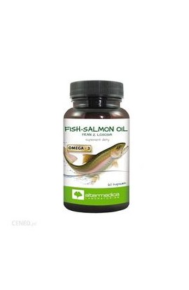 Altermedica, FISH-SALMON OIL, 60 PCs