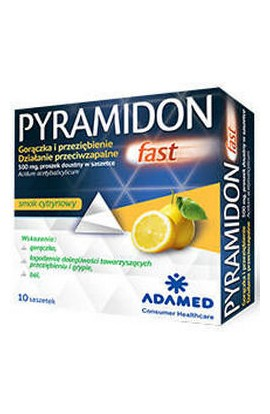Adamed, Pyramidon Fast 500mg, 10 PCs