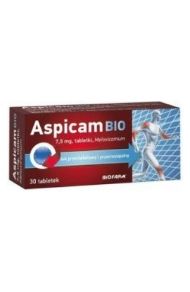 Biofarm, ASPICAM BIO 7,5mg, 20 PCs