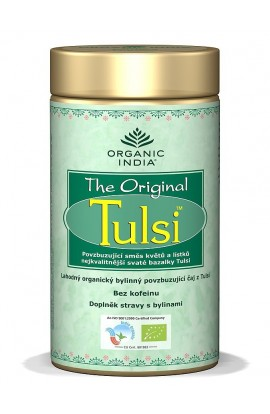 ORGANIC INDIA, Tulsi Original Tea, loose tea in box BIO, 100 G