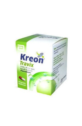 Abbott, KREON TRAVIX 150mg, 50 PCs