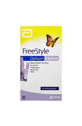 Abbott,  FreeStyle Optium beta-ketone 10 pcs