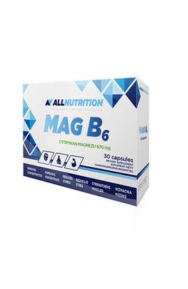 Allnutrition, Mag B6, 30 PCs