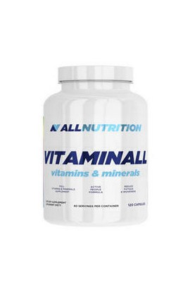Allnutrition, VitaminALL, 120 PCs