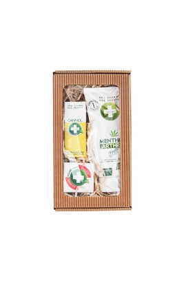 Gift pack for great massages - Menthol Arthro Gel 200 ml + Cannol 30 ml + Dolorcann 15 ml