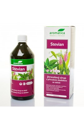 Aromatica,Stevian stevia syrup with a sweetener from the plant stevie