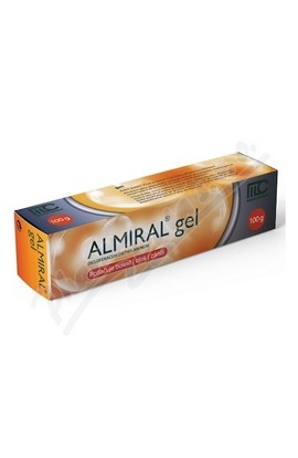 Movianto, ALMIRAL 10MG / G gels 100G, 1 pcs
