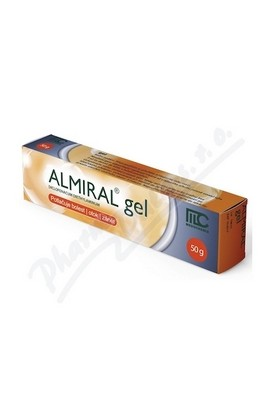 Movianto, ALMIRAL 10MG / G gels 50G, 1 pcs