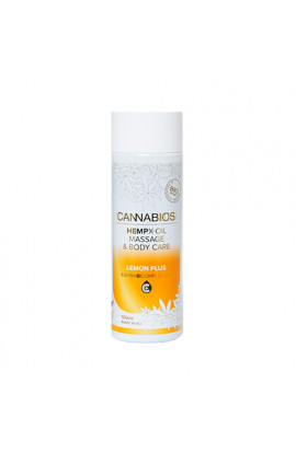 Cannabios, Bio Cannabis Massage & Growing X-Oil LEMON PLUS 100 ml
