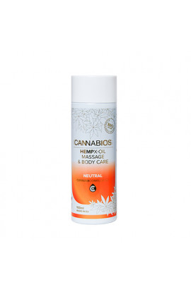Cannabios, Bio hemp massage & nourishing X-oil NEUTRAL 100 ml