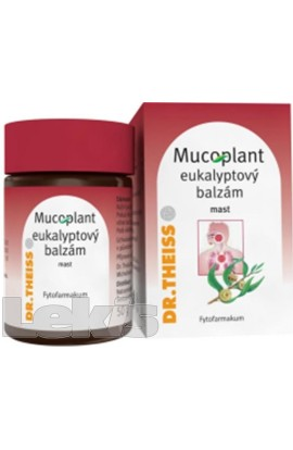 Dr.Theiss, Mucoplant eucalyptus balm drm.ung.1x50g