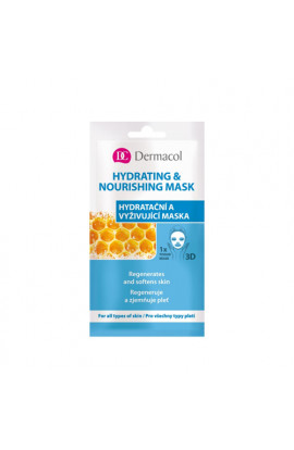 Dermacol, Hydrating & Nourishing Mask,15 ml