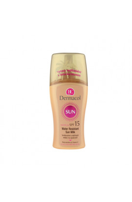 Dermacol, Sun Water Resistant, waterproof sunbathing milk SPF 15,  200 ml