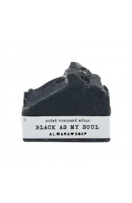 ALMARA, SOAP BLACK AS MY SOUL, 75 G