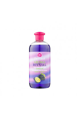 Dermacol, Aroma Ritual, anti-stress foam in the bath,grapes and limes, 500 ml