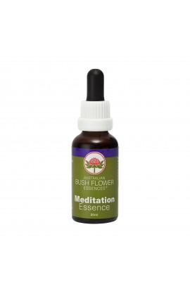 "AUSTRALIAN BUSH FLOWER ESSENCES, THE COMBINED ESSENCE OF ""MEDITATION"", 30 ML"