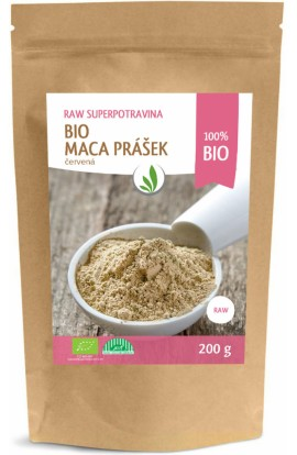 Allnature, Allnature Maca Peruvian Red Powder Bio Raw 200 g
