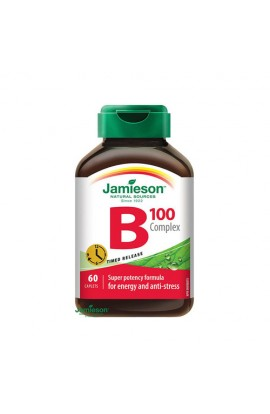 B-Complex 100 mg Sustained Release, 60 Tablets