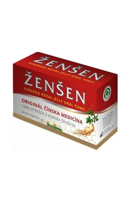 Ginseng with royal jelly in ampoules, 10x10 ml